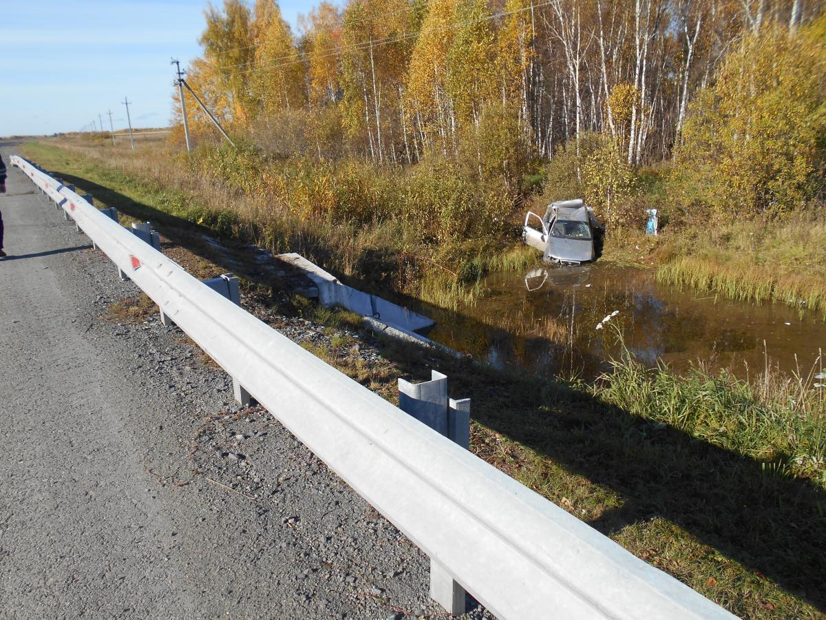 ДТП на трассе Тюмень – Ханты-Мансийск: пострадали мама-водитель и ее 12-летний сын